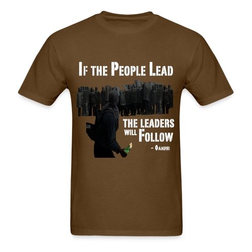 The People Will Follow - Men's T-Shirt