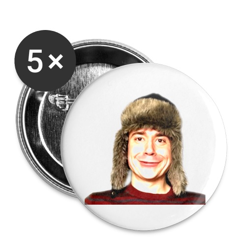Mike Marble Pin - Large Buttons
