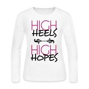 HighHopes - Women's Long Sleeve Jersey T-Shirt