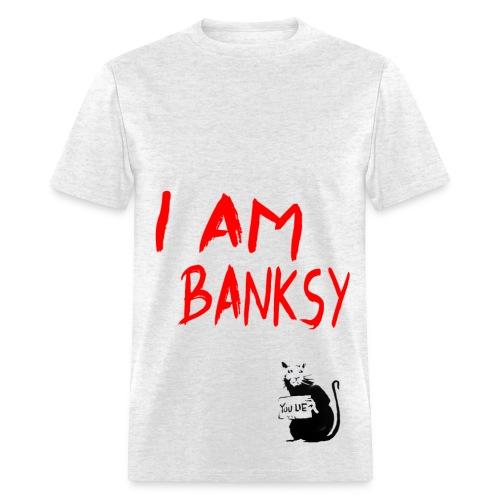 I am Banksy - Men's T-Shirt