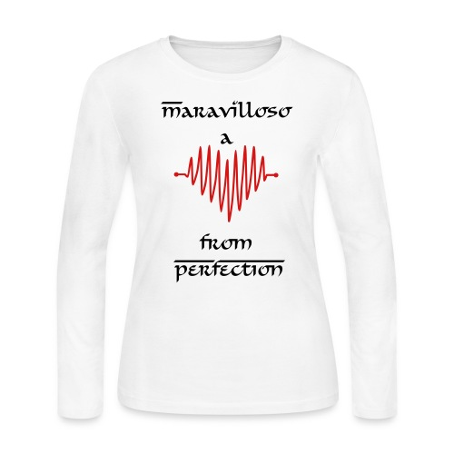 Maravilloso - pefection -white - Women's Long Sleeve Jersey T-Shirt