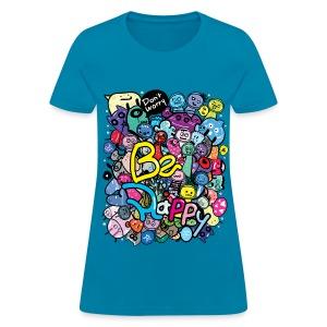 Be Happy Monsters Women's T-Shirt - Women's T-Shirt