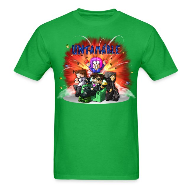 Men's T Shirt: UNTAMABLE!