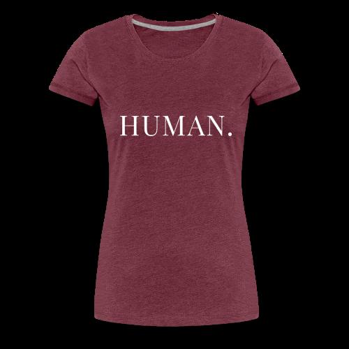 HUMAN Horizontal - Women's Premium T-Shirt