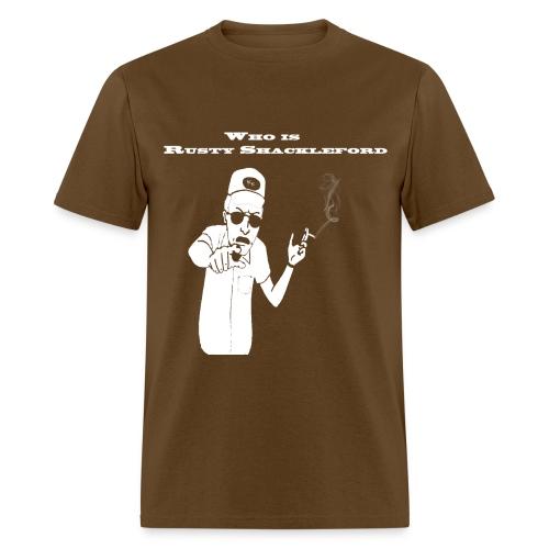Rusty Shacklelford - Men's T-Shirt