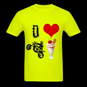 Men's I Love Supermoto Sunday T - Men's T-Shirt
