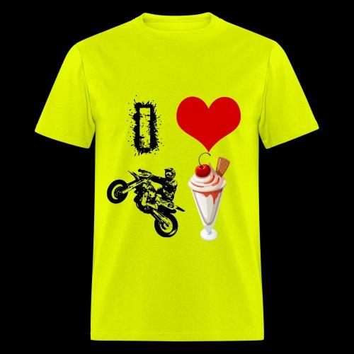 Men's I Love Supermoto Sunday T - Men's T-Shirt