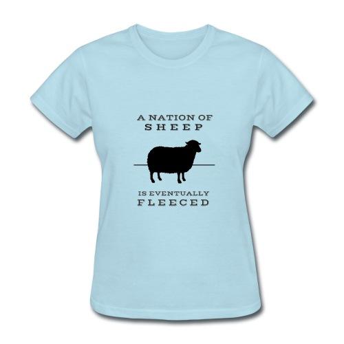 Womens Sheep T-Shirt - Women's T-Shirt