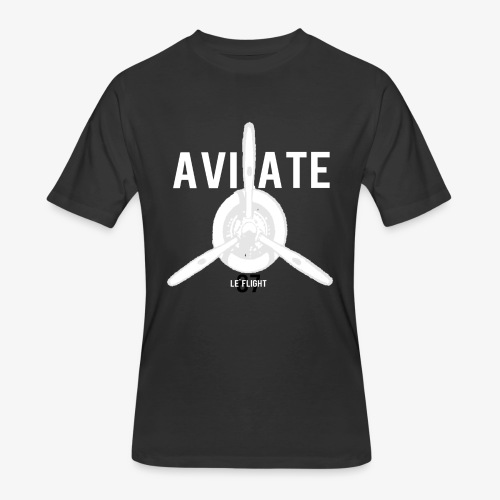 Frozen Aviation  - Men's 50/50 T-Shirt