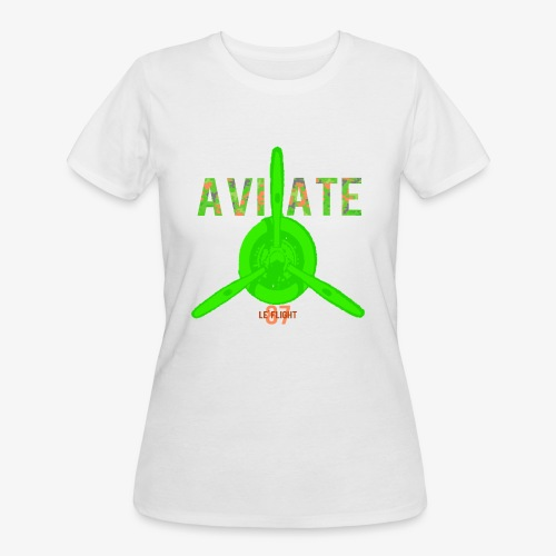 Springtime Camo Aviation - Women's 50/50 T-Shirt