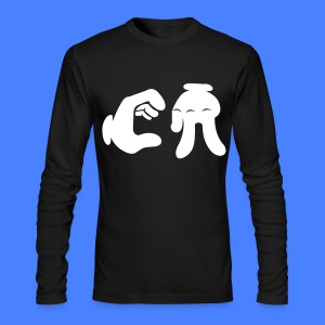 California Hand Sign Long Sleeve Shirts - Men's Long Sleeve T-Shirt by Next Level