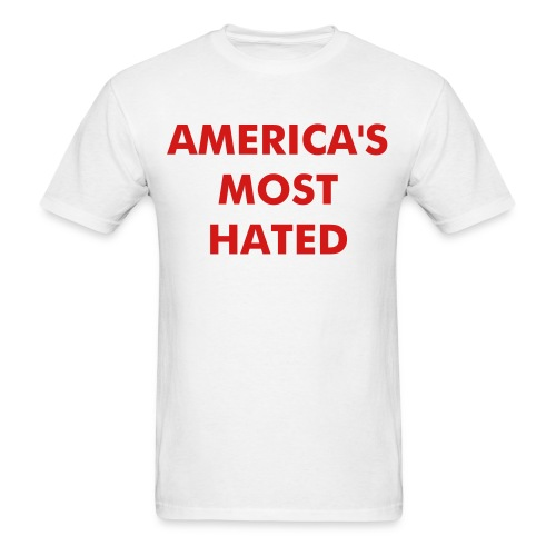 Kevin Federline - America's Most Hated T-shirt - Men's T-Shirt