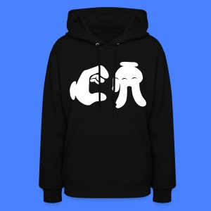 California Hand Sign Hoodies - Women's Hoodie