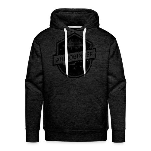 Mens Hoodie Worn Down Logo - Men's Premium Hoodie
