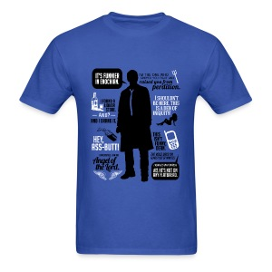 Castiel quotes [DESIGN BY AVIA] - Men's T-Shirt