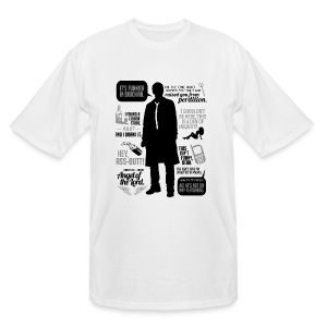 Castiel quotes [DESIGN BY AVIA] - Men's Tall T-Shirt