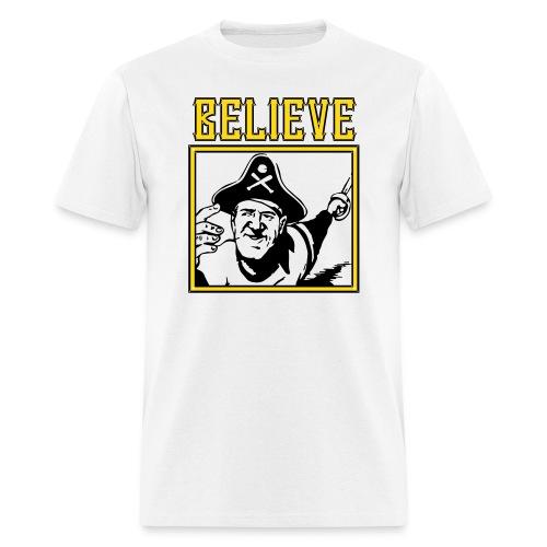 BELIEVE in the Bucs - Men's T-Shirt