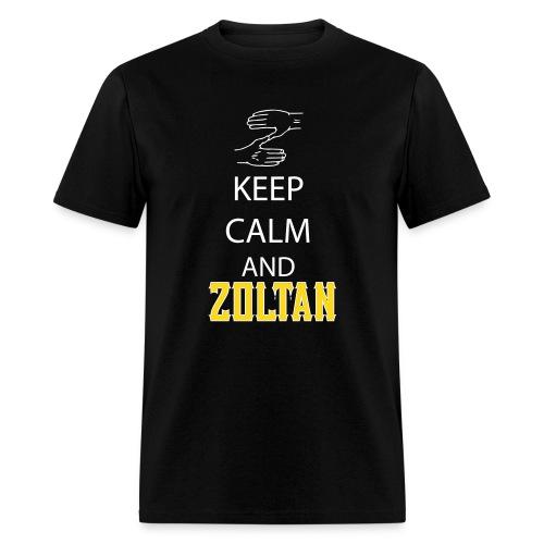 Keep Calm and Zoltan - Men's T-Shirt