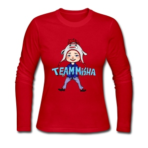 Team Misha [DESIGN BY CHARLIE] - Women's Long Sleeve Jersey T-Shirt