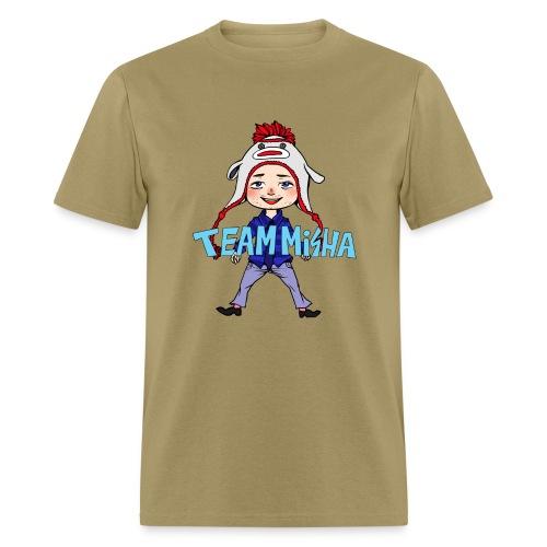 Team Misha [DESIGN BY CHARLIE] - Men's T-Shirt