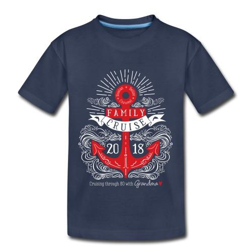 80th Cruise Kids T-Shirt - Kids' Premium T-Shirt