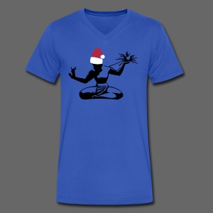 Spirit of Christmas - Men's V-Neck T-Shirt by Canvas