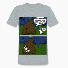 Bear Paw When a Bear poos in the woods T-Shirts
