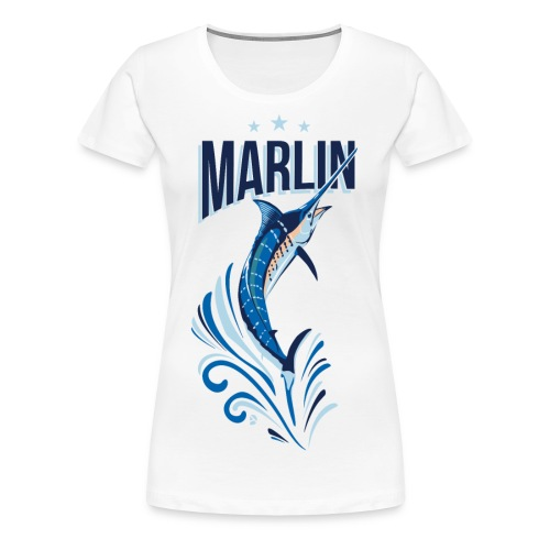 AD Marlin - Women's Premium T-Shirt