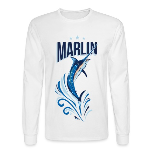 AD Marlin - Men's Long Sleeve T-Shirt