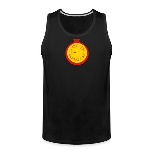 Compete For Every Second - Men's Premium Tank