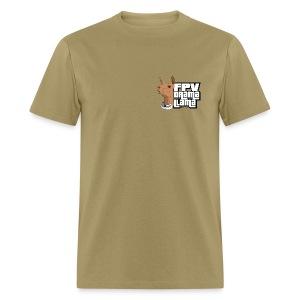 Llama Thrust 2 Sides! - Men's T-Shirt