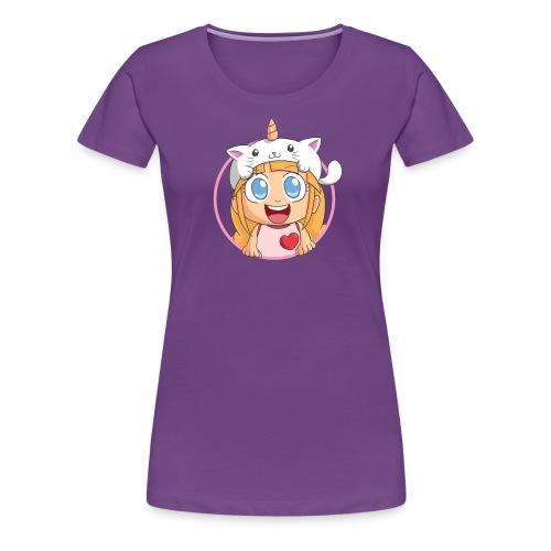 Women's Shirt (Purple) - Women's Premium T-Shirt