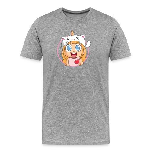 Men's Shirt (Grey) - Men's Premium T-Shirt