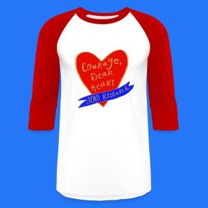 Baseball T-Shirt Courage, dear heart - Baseball T-Shirt