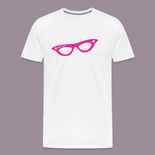 PINK GLASSES T MEN/UNISEX - Men's Premium T-Shirt