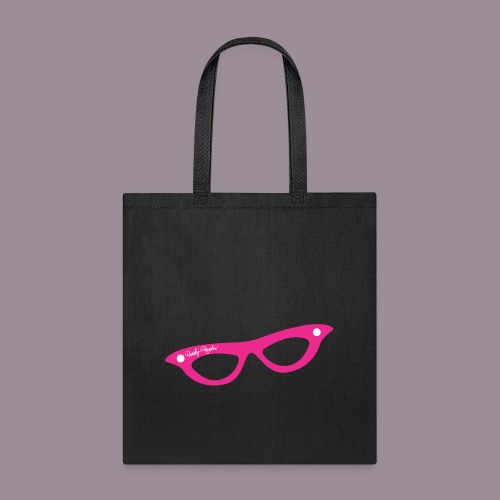 PINK GLASSES TOTE - Tote Bag