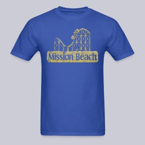 Vintage Mission Beach - Men's T-Shirt