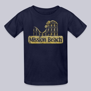 Vintage Mission Beach - Kids' T-Shirt