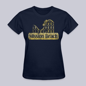 Vintage Mission Beach - Women's T-Shirt