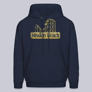 Vintage Mission Beach - Men's Hoodie