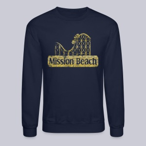 Vintage Mission Beach - Crewneck Sweatshirt