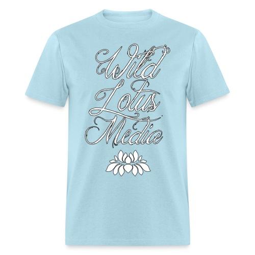 Wild Lotus Media Script Tee - Men's T-Shirt