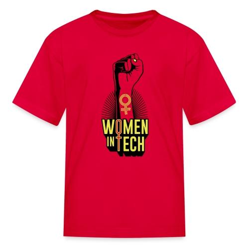 Women in Tech - Kids' T-Shirt