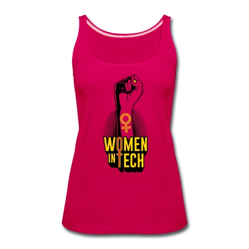 Women in Tech - Women's Premium Tank Top
