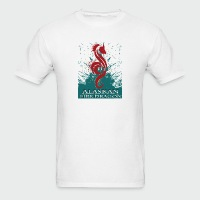 Alaskan Fire Dragon - Men's T-Shirt