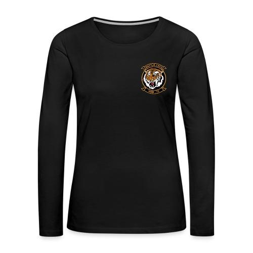 HSM-73 BATTLECATS LONG SLEEVE  - WOMENS - Women's Premium Long Sleeve T-Shirt
