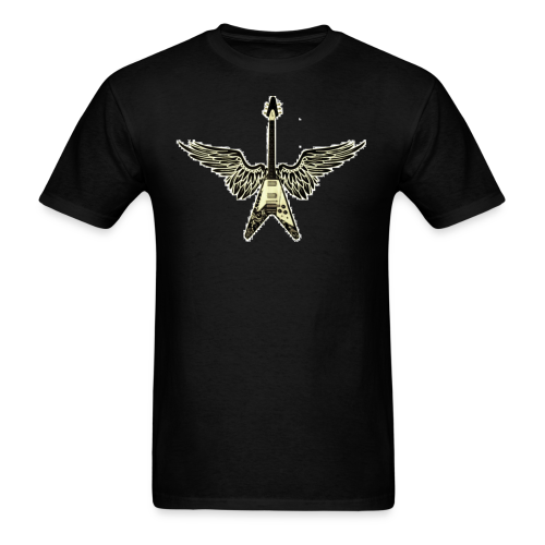 Guitar Wings Men's T-Shirt - Men's T-Shirt