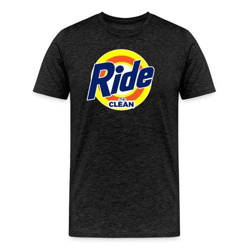 Ride Clean by Bob Roll - Men's Premium T-Shirt