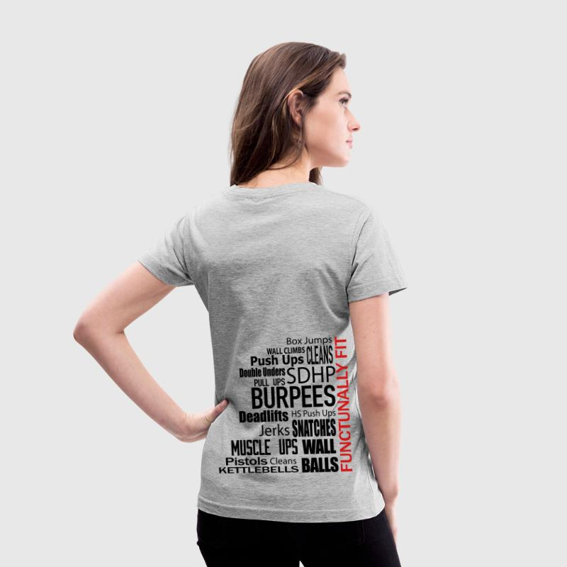 Functionally Fit  - Women's V-Neck T-Shirt