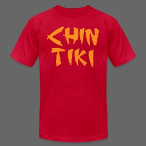 Ye Olde Chin Tiki - Men's T-Shirt by American Apparel